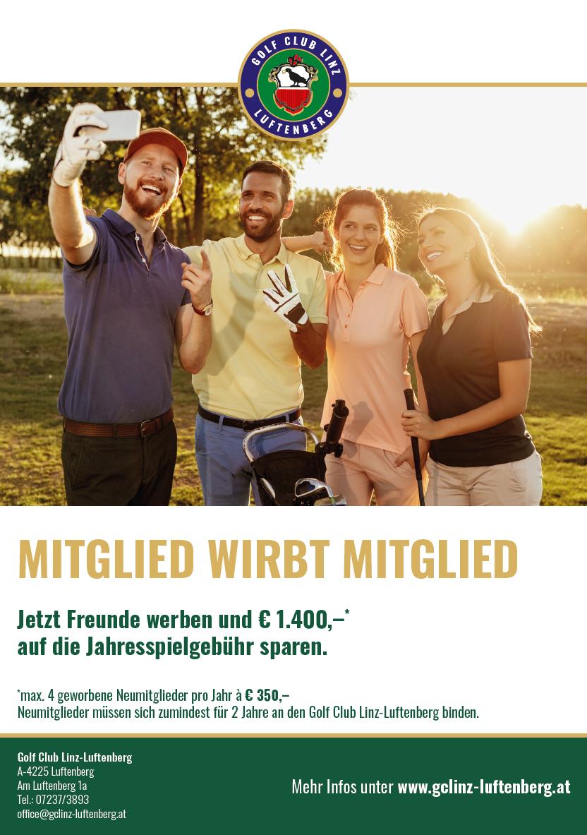 MITGLIED WIRBT MITGLIED